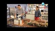 Мъфини с броколи, задушен праз със сметана - Бон апети (04.01.2013г.)