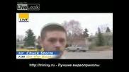 Смахнат Репортер -  Live TV-си смазва мутрата на живо!
