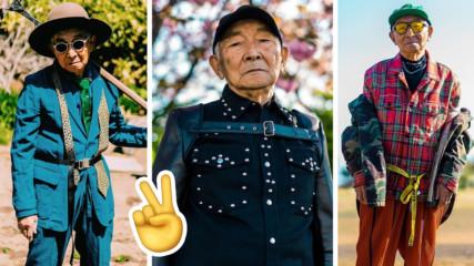 Дядо инфлуенсър! 84-годишен стана хит в Instagram и има защо!