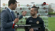 "Жереми Манзоро стана ""Играч на мача"" Черно море - Славия 1:1"