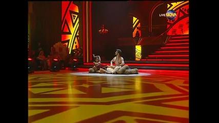 Dancing Stars - Михаела Филева и Светльо - боливуд (08.04.2014 г.)