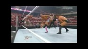 Wwe Raw D R A F T 2010 The Big & The Miz vs The Hart Dynasty ( Wwe Unified Tag Team Championship)
