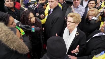 Canada: Ontario Premier meets BLM activists, vows to tackle racism