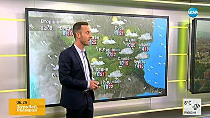 Прогноза за времето (12.11.2019 - сутрешна)