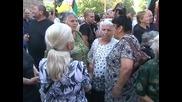 200 души протестираха пред Министерски съвет срещу увеличението на цената на тока