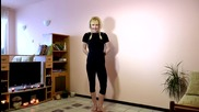 Лесна предколедна гимнастика с Флъфи_магнет :)