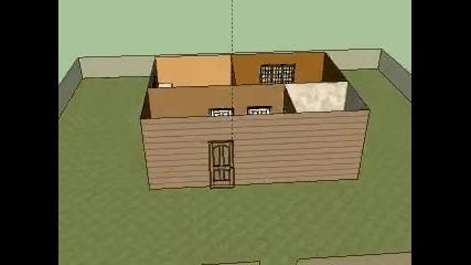 Sketchup първият ми проект