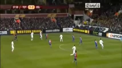 Tottenham Vs Basel 2-2 4.4.2013 Goals