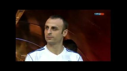 Димитър Бербатов блести в бенефиса на Балак