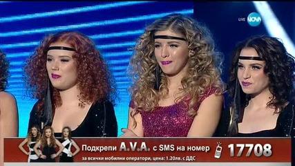 A.V.A. - I'm so excited - X Factor Live (01.12.2015)