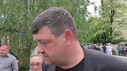 Ukraine: Monument unveiled to honour civilians killed in Donetsk fighting