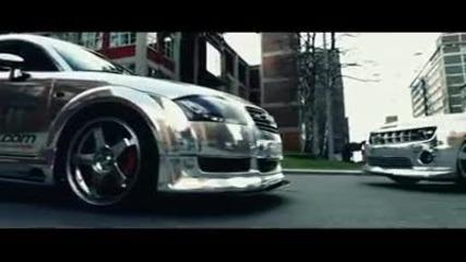 Chrome Camaro Car Tintek Wrap