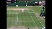 Wimbledon 2008 : Мъри - Гаске