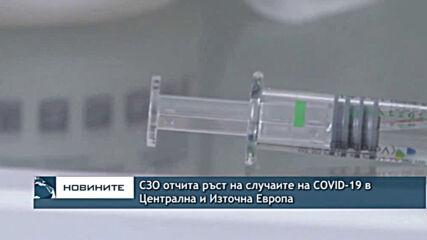 СЗО отчита ръст на случаите на COVID-19 в Централна и Източна Европа