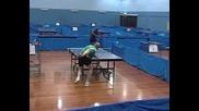 Тенис на маса - Забавна тренировка