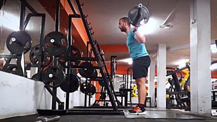 90 дневна трансформация | Изграждане на мускул, горене на мазнини | Ден 17 - Крака