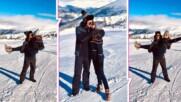 Михаела Маринова и гаджето - на планинска почивка! Певицата изви глас над Рила