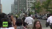 USA: Washington Navy Yard on lockdown after reports of 'active shooter'