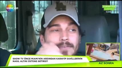 Çağatay Ulusoy - Show Tv (9/4/2016)