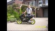 Yamaha Aerox Mhr Team