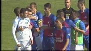 Меле между играчите на Левски и Марек