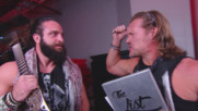 Chris Jericho performs a song for Elias: Raw 25, Jan. 22, 2018