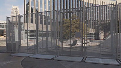 USA: Heavy security in Minneapolis ahead of jury selection in Derek Chauvin trial