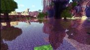 Minecraft реалистична вода