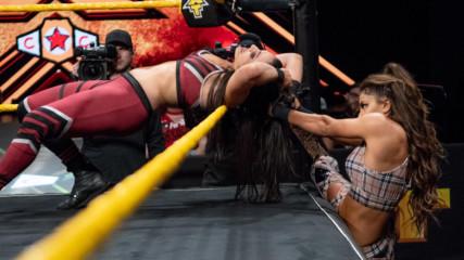 Dakota Kai & Deonna Purrazzo vs. Lacey Evans & Aliyah: WWE NXT, Sept. 19, 2018