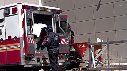 USA: Body loaded into refrigerated truck near NYC's hospital as coronavirus death toll rises