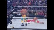 Wrestle Mania 23 Chris Benoa Vs Montel Vontevios Porter Part 2