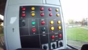 Обзор на кабината на трамвай Татра Т6а5