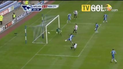 Уиган - Манчестер Сити 0 - 2