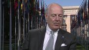 Switzerland: De Mistura calls on Putin and Obama to protect ceasefire in Syria