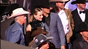 'The Longest Ride' Stars And Cowboys Enjoy The Premiere