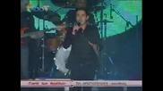 коледен концерт в Солун на Mixalis Xatzigiannis sti giorti ton Aggelon (01.12.2009) първа част