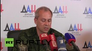 Ukraine: Donbass militias will pull back weapons under 100mm calibre from  front-line