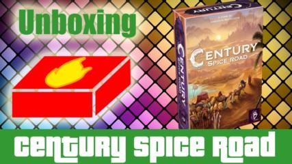 Century: Spice Road - Unboxing/Какво има в кутията