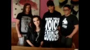 ... Tokio Hotel ..** - Message ot 24.09 (сладури){}обичам вии {}{}