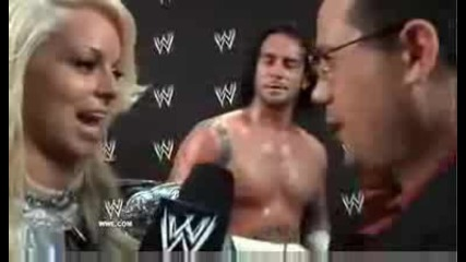 Maryse and Cm Punk After the Draft