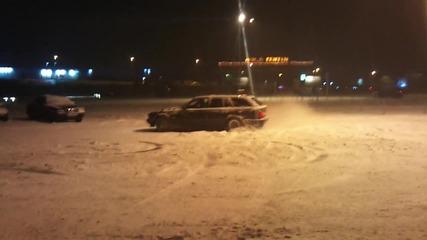 Bmw на сняг