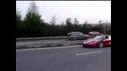 Ferrari Enzo Vs Bugatti Veyron Gumball2007