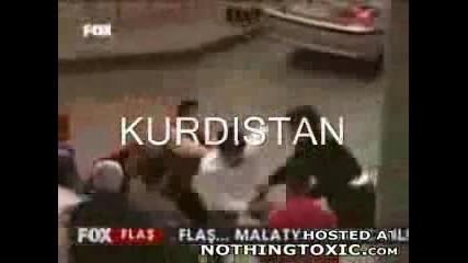 1 Кюрд Vs 3 Турски Фашисти