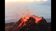 Изригването На Вулкан!
