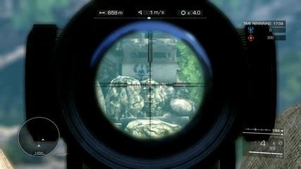 Sniper Ghost Warrior 2 Multiplayer Gameplay