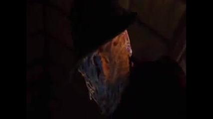 Хорър титаните Джейсън Ворхис и Фреди Крюгер един срещу друг във филма Фреди срещу Джейсън (2003)