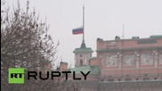 Russia: Flags fly at half-mast in St. Petersburg for flight 7K9268 victims