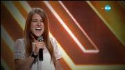 Анджела Киркова представяне - X Factor (20.10.2015)