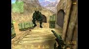 как може да ходите отгорe на картата de_dust