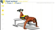 12 мин. тренировка за супер гърди в домашни условия